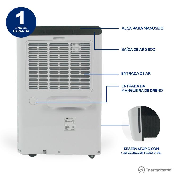 DESUMIDIFICADOR MAX 500