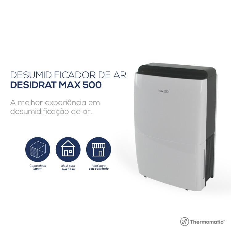 DESUMIDIFICADOR NEW MAX 500