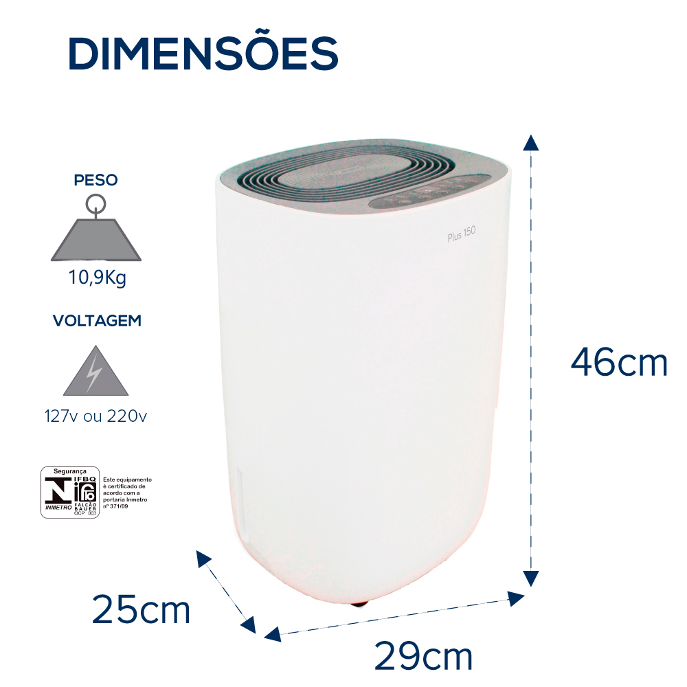 DESUMIDIFICADOR NEW PLUS 150